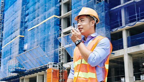 Instant communications increase productivity across the construction industry